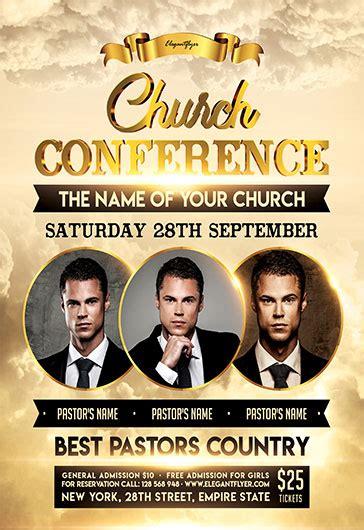 Spiritual Church Flyer Psd Template By Elegantflyer Church Conference Poster Template