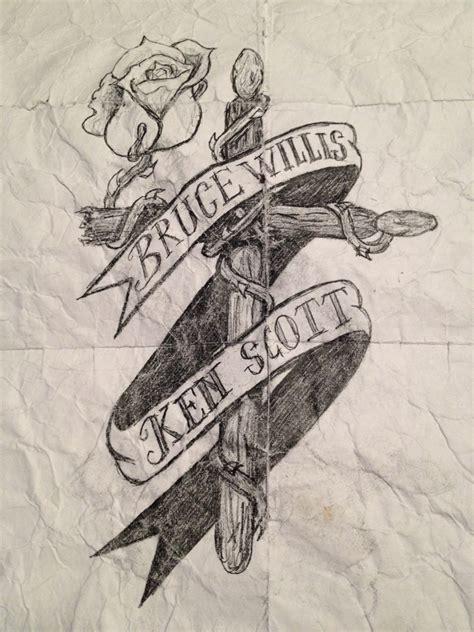 drumstick tattoo designs drum stick cross by brittonj2 on deviantart