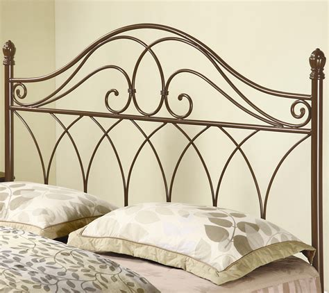 Coaster Iron Beds And Headboards 300186qf Full Queen Brown Iron Bed Headboard