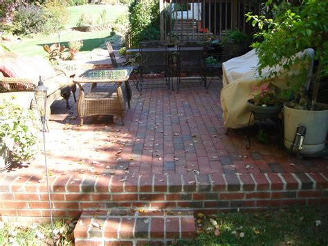 bricks for backyard 30 vintage patio designs with bricks wisma home