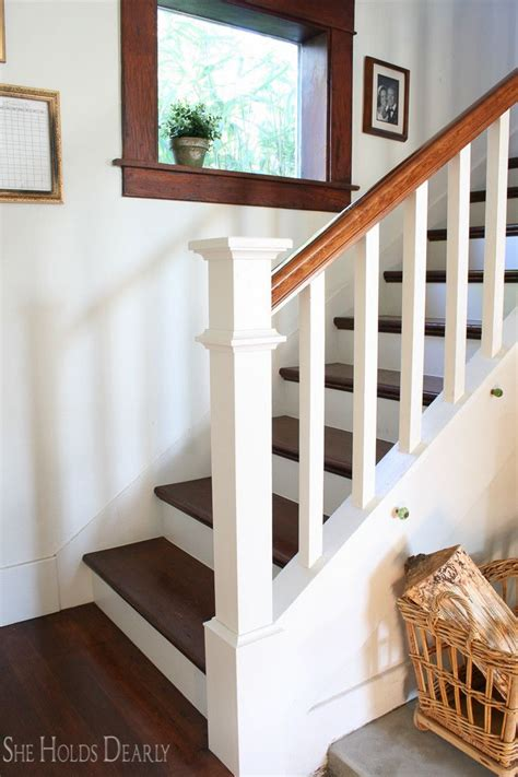 Stair Banister Ideas Bq by Farmhouse Newel Post Makeover Newel Posts