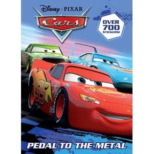 disney pixar cars the books of cars 2009 update take five a day pedal to the metal disney pixar cars