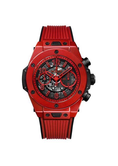 Jam Tangan Hublot Keramik Merah arloji arloji mewah bersemburat merah koran yogya