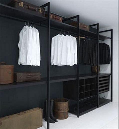 Black Closet Organizer Systems by Modern Simple Black Walk In Closet Organizers Systems By