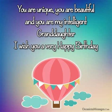 Happy Birthday Wishes To My Granddaughter Birthday Wishes For Granddaughter Occasions Messages
