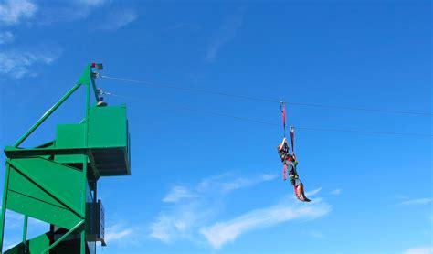 theme line zip portable flywire zipline the best mobile ziplines