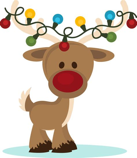 reindeer photos of cute christmas clip art children