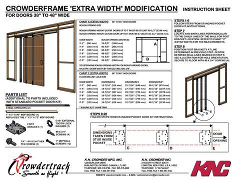 Closet Door Opening Size Opening For Exterior Door Best Trends
