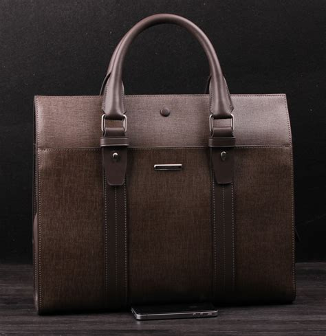 mens leather business bags genuine leather business mens computer khakhi bag sejw2ugdpi of high quality and
