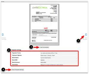 bank invoice template how to put your bank account details on your invoice