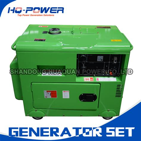 5000watt silent diesel generation price 5kw indoor power