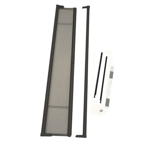 odl 36 in x 97 in brisa bronze retractable screen door brtlbe the home depot
