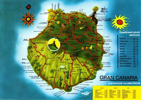 printable map gran canaria image gallery island map gran canaria