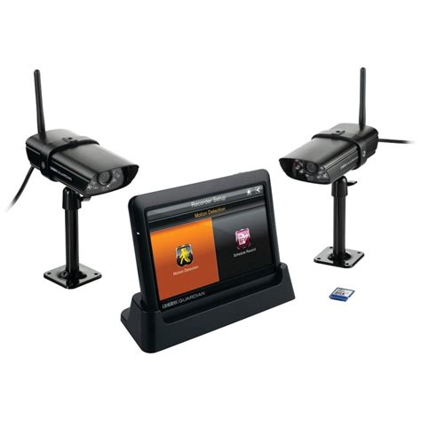uniden guardian wireless surveillance system with 2