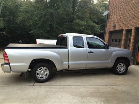 2007 Toyota Tacoma Access Cab Find Used 2007 Toyota Tacoma Access Cab In Pell City