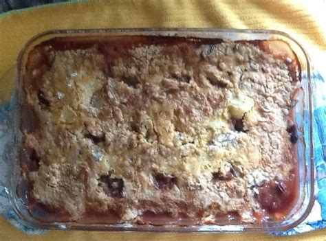 easy cobbler recipe with cake mix easy cake mix cobbler recipe just a pinch recipes