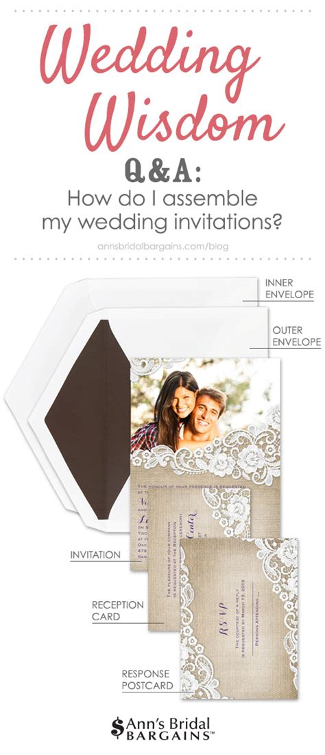 how to assemble wedding invitations how do i assemble my wedding invitations