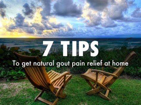 7 Tips On Getting by 7 Tips To Get Gout Relief At Home
