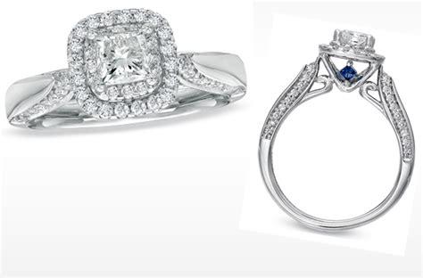 vera wang engagement ring princess cut