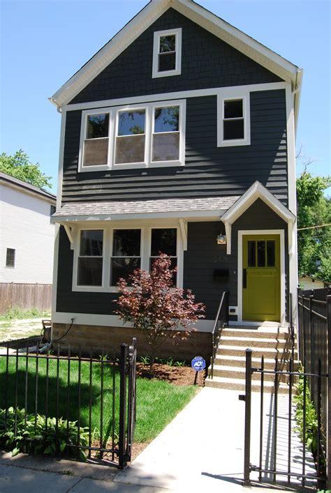 craftsman house exterior ideas gray white front