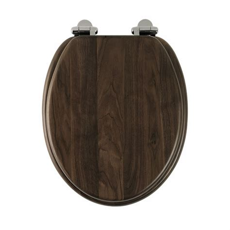 solid wood toilet seats roper traditional solid wood toilet seat walnut