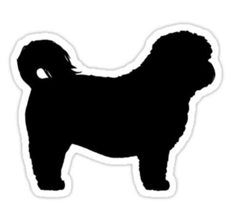 shih tzu puppies farmhouse shih tzu silhouette s sticker more silhouettes ideas