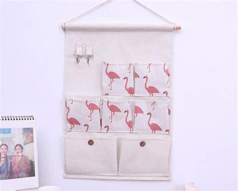 Rak Kosmetik Gantung Unik pouch gantung 7 sekat rak dekorasi unik serbaguna grosir