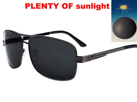 sunglasses with fast change photochromic transition lenses