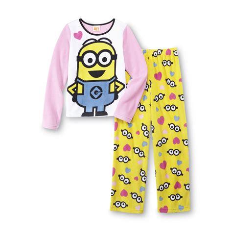 Pajamas Minion illumination entertainment s fleece pajamas minion clothing clothing
