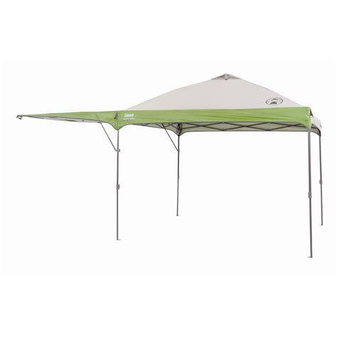 coleman gazebo with awning coleman 3 x 3m gazebo with lift up awning wall bunnings