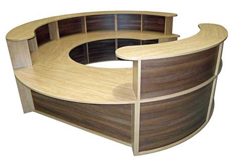 round office desk reception desks outlet office furniture