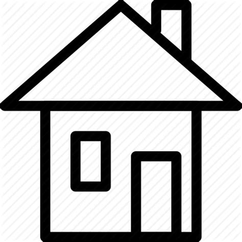 house outline apartment building creative grid home house line