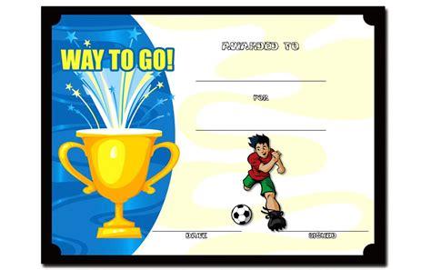 soccer certificate templates for word soccer certificate template 4 the best template collection