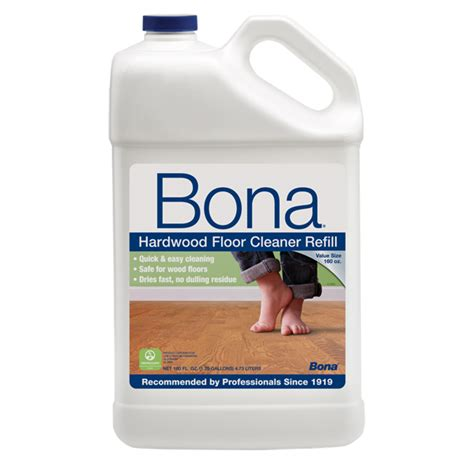 bona 174 hardwood floor cleaner 160 oz us bona com