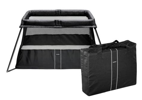 Baby Bjorn Travel Crib Black Babybjorn Travel Crib Light 2 Baby Play Yard Bassinet Black 040180us