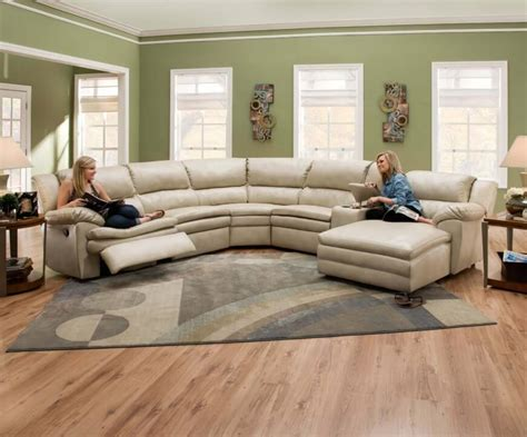 Curved Sectional Sofa With Recliner 25 Contemporary Curved And Sectional Sofas