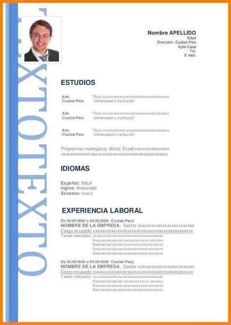 Resume Cover Letter Example by 8 Modelos De Cv 2017 Cna Resumed