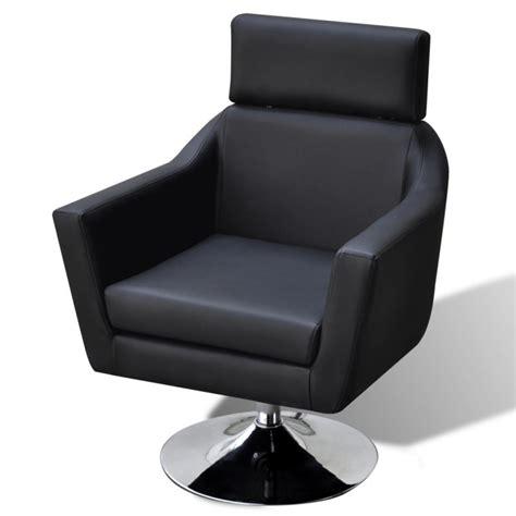 tv armchair faux leather tv armchair w ottoman stool in black buy chair ottoman sets