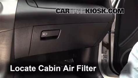 Rav4 Cabin Air Filter by 2006 2012 Toyota Rav4 Cabin Air Filter Check 2011 Toyota