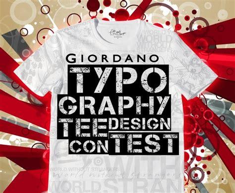 design competition mechanics contest giordano typography tee design contest mechanics
