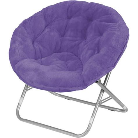 mainstays saucer chair aqua mainstays faux fur saucer chair available in