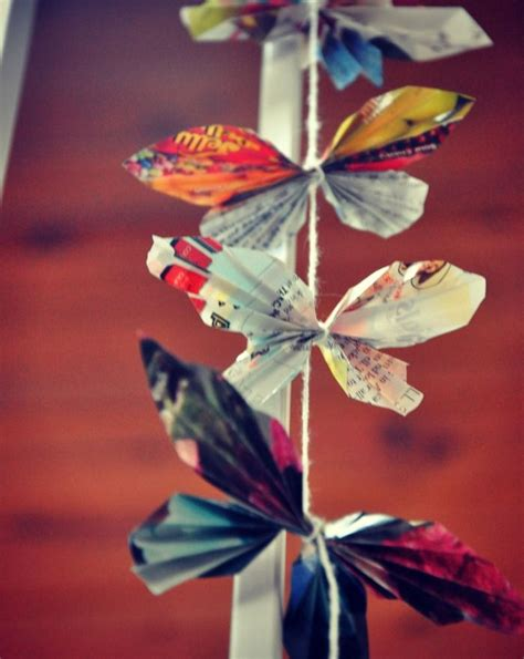 Butterfly Papercraft - diy paper butterflies paper crafts