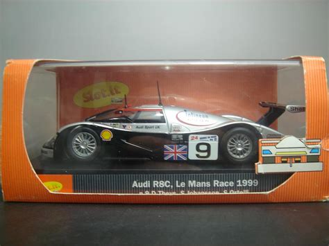 audi r8c アウディr8c audi r8c no9 le mans 1999 mini スクランブル 1 32スロットカー専門店