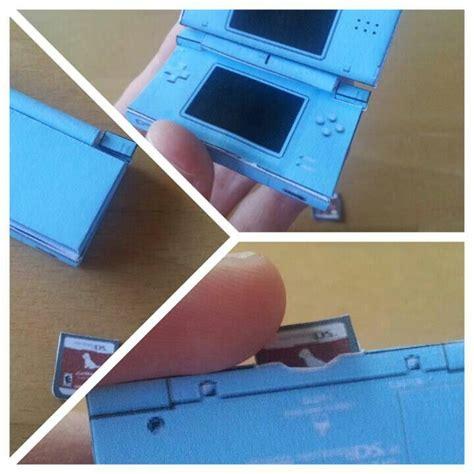 Papercraft Ds - papercraft nintendo ds lite bigger papercraft