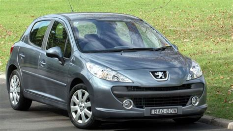 used peugeot diesel cars peugeot 207 used review 2007 2012 carsguide