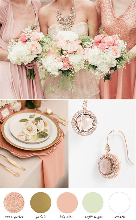 colors that look with gold palette wedding color schemes wedding colors