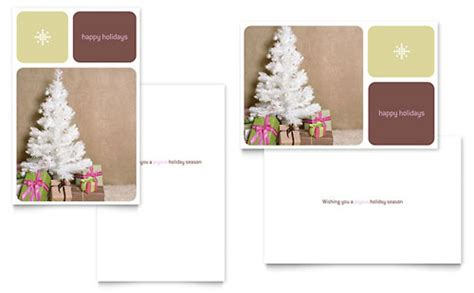 photo greeting card template microsoft word greeting cards word templates