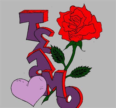 imagenes que digan te amo con una rosa dibujos de rosas y grafittis que digan te amo imagui