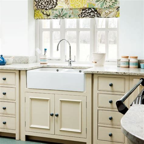 country kitchen sink ideas neutral country kitchen kitchen design idea