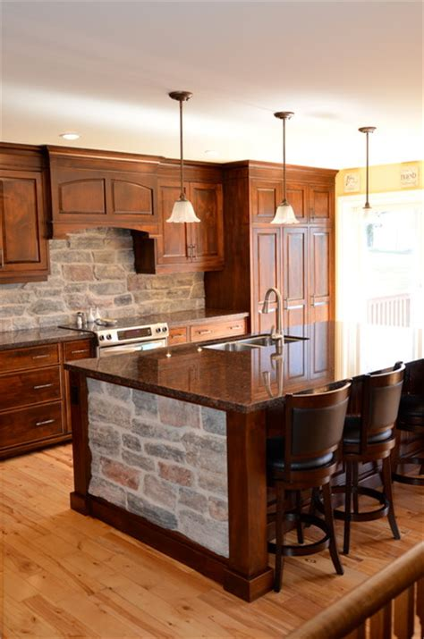 kitchen furniture stores toronto wormy maple kitchen w stone rustic kitchen toronto